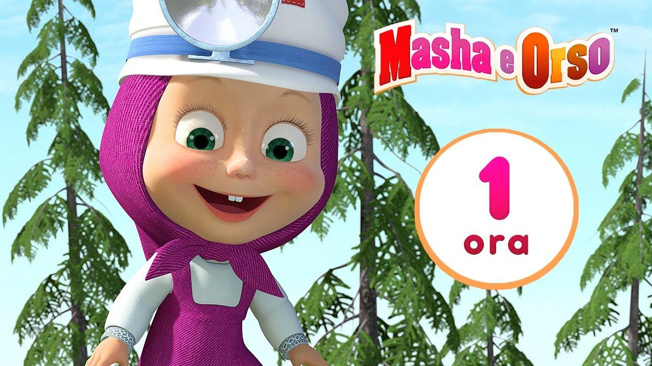 👱♀️🐻 Masha e Orso 🐺🐰 Storie di Animali 🐷🎬 1 ora ⏰ Collezione di cartoni animati per bambini
