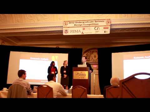 Seismic Design Competition - USC Final Presentation