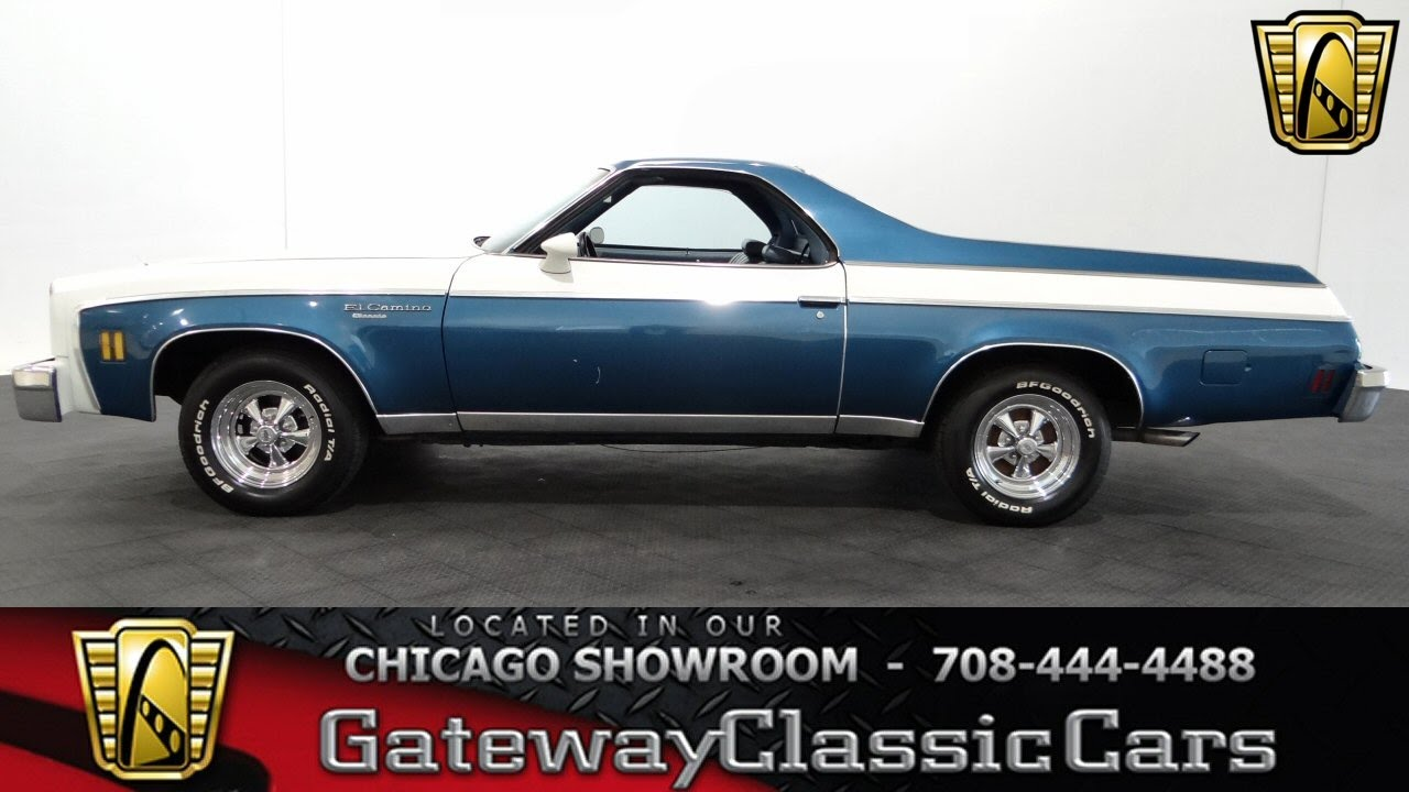 Chevrolet El Camino Gateway Classic Cars Chicago Youtube