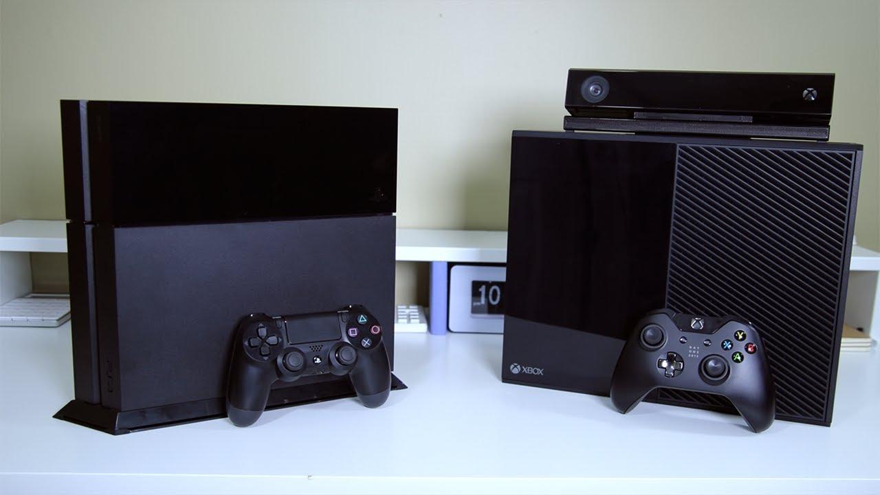 Xbox One vs PS4 - Full Comparison - YouTube