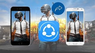 Share large games in android | GTA Vice city | PUBG |