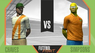 Chaves vs Simpsons - Futebol Fight