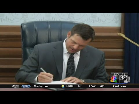 Jury in Kansas rejects bias claim against Kobach's office