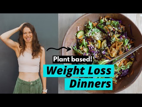 3 vegan weight loss dinners I eat weekly