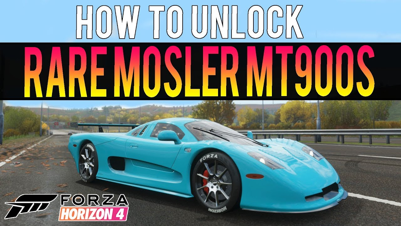 Forza Horizon 4 How To Get Rare Mosler Mt900s New Best Car Youtube