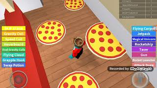 Roblox escape the pizza hobbie