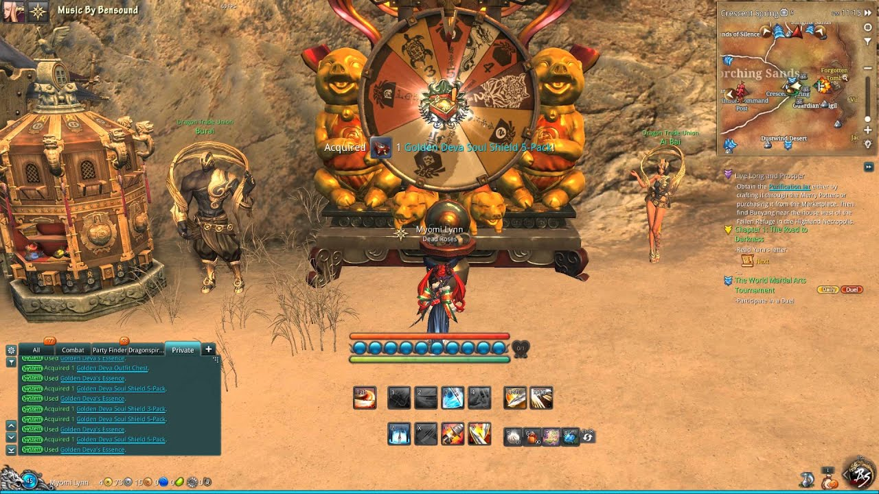 Blade And Soul Wheel Of Fortune