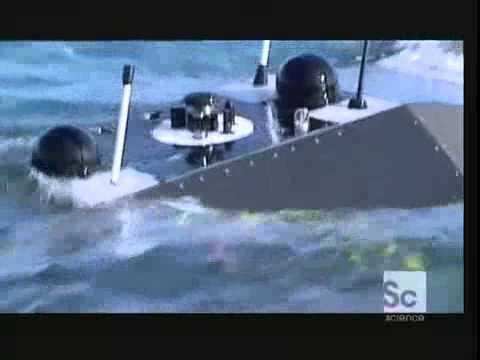Robot submarine Talisman UUV  on Beyond Tomorrow