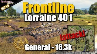 Frontline Mode: Lorraine 40 t, Road to Glory, General, WORLD OF TANKS