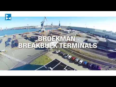 Broekman Logistics Breakbulk terminal