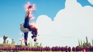 300 Firework Archers vs 1 ICE GIANT  - Totally Accurate Battle Simulator TABS