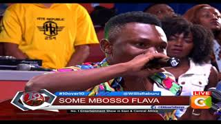 Mbosso ~ I hosted Rayvanny in my house before becoming what he is now #10Over10