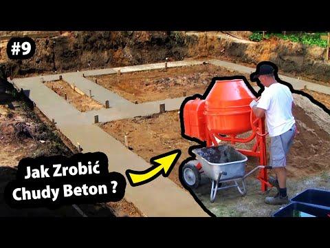 Chudy Beton - Proporcje !!! - Jak wylać Chudziaka pod Fundamenty ??? - Budowa Domu (Część 9/47)
