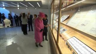 The Queen and The Duke of Edinburgh visit the Rambert Dance Company
