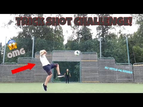 IRL FOTBALL CHALLENGE!! trick Shot Challenge! M// Vetle Og Sindre