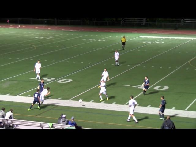 Acton Boxborough Varsity Boys Soccer vs Peabody 9/13/14
