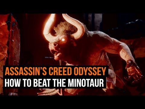 How to beat the Minotaur in Assassin's Creed Odyssey thumbnail
