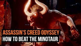 How to beat the Minotaur in Assassin's Creed Odyssey