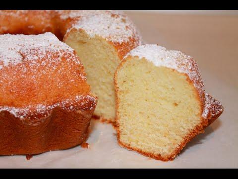 Ciambella Alla Panna Montata Whipped Cream Cake Recipe Youtube