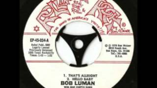 Watch Bob Luman Hello Baby video