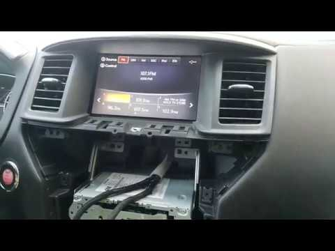 How to Remove Radio / Navigation / Display from Nissan ...