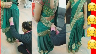 Baixar How to wear silk saree perfectly step by step (in hindi )