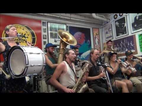 Tuba Skinny @ Louisiana Music Factory JazzFest 2013
