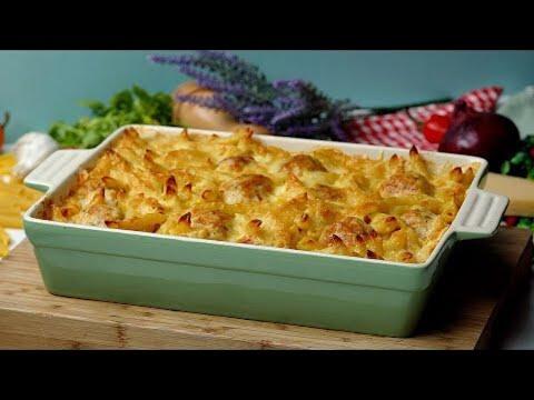 Chicken Cordon Bleu Pasta Bake Recipe