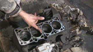 1.9 turbo diesel AFN знімаємо головку блоку циліндрів частина 5