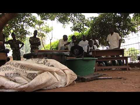 Voluntary Disarmament - Central African Republic (Media B-Roll)