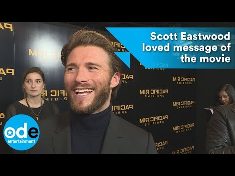 Scott Eastwood loved message of Pacific Rim: Uprising