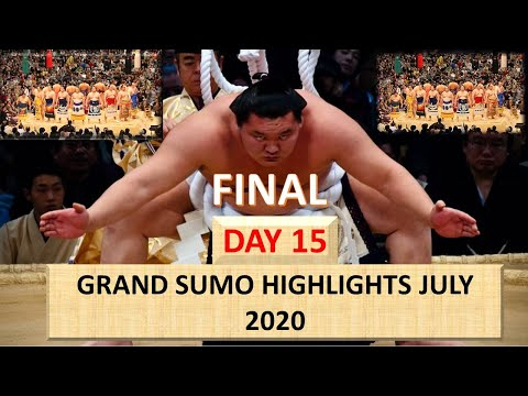 GRAND SUMO HIGHLIGHTS 2020 || JULY FINAL DAY