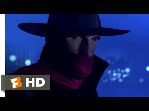 The Shadow (1994) - The Living Shadow Scene (2/10) | Movieclips