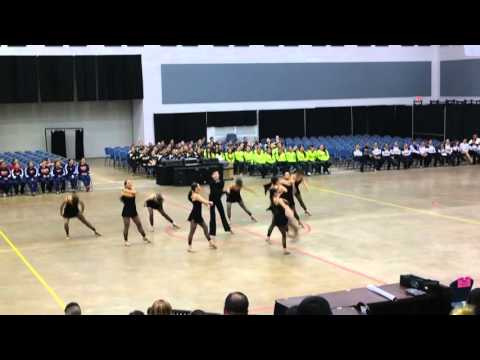 Lopez High School Golden Stars Officer Jazz Dance at ADTS Competition 2016