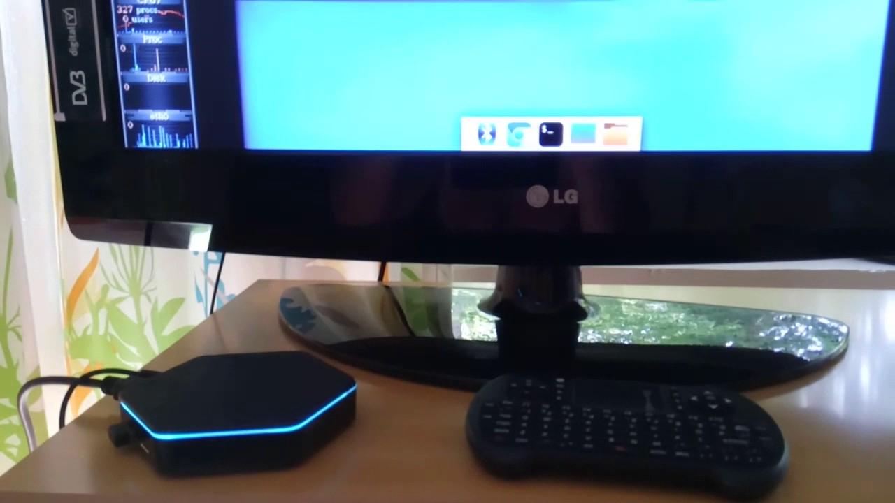 Debian testing Xfce and T95Z Plus Amlogic S912 TvBox