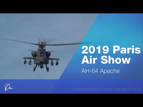 AH-64 Apache at 2019 Paris Air Show