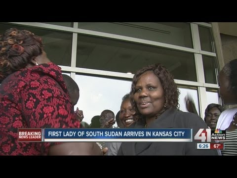 First lady of South Sudan visits KC