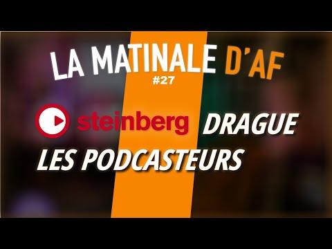 Un logiciel spécialement pour les podcasteurs chez Steinberg ? - LA MATINALE #27