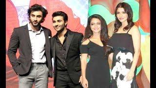 Anushka Sharma And Ranbir Kapoor Laucnh Aadar Jain Anya Singh At YRF Studios