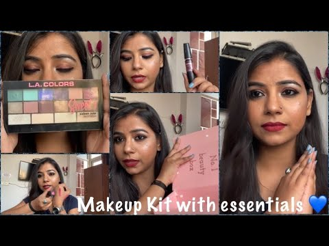 beginners makeup kit with only essentials 💙 makeupkit