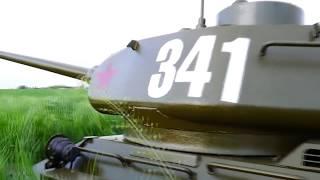 Большой радиоуправляемый танк Т34-85 масштаб 1 2.2