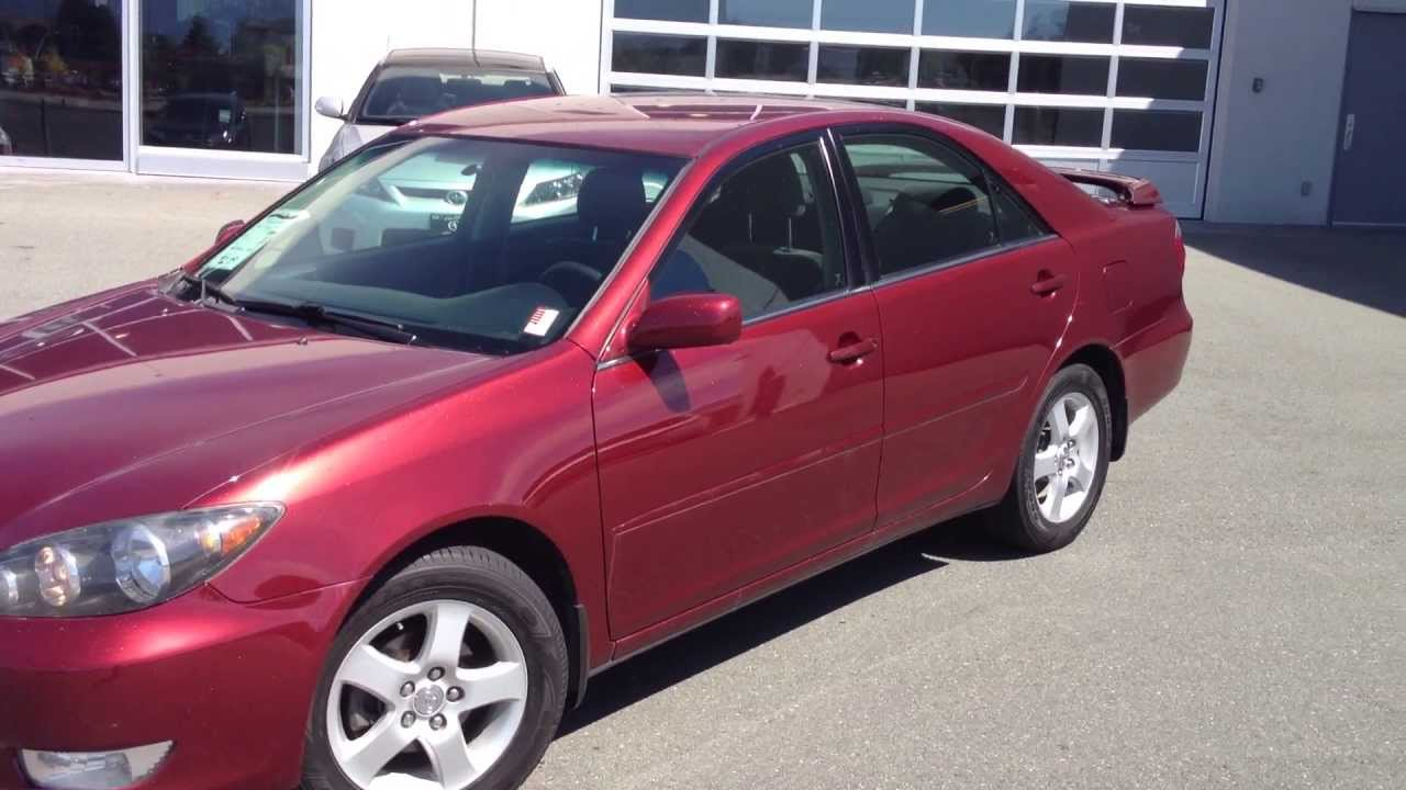 Keyes Toyota Van Nuys Sold 2005 Red Toyota Camry Se 13976a For Sale Here At Valley