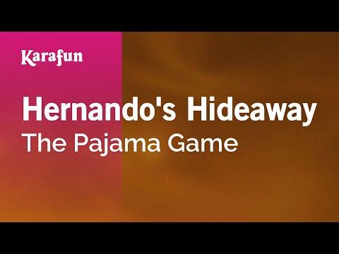 Karaoke Hernando's Hideaway - The Pajama Game *