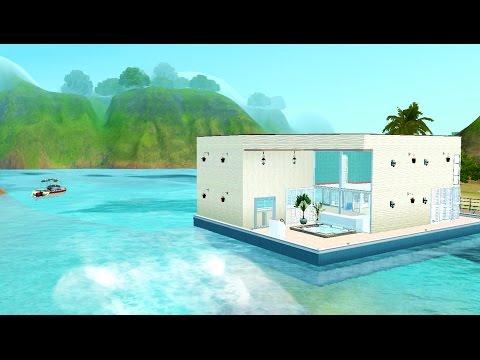 Sims 3 : Construction d'une maison-bateau originale [Lien de téléchargement dans la description]