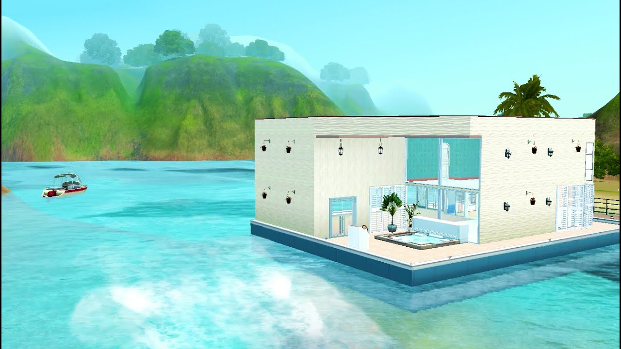 Sims 3 construction d 39 une maison bateau originale lien for Construction maison originale