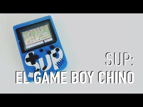 Así es Sup, el NES portátil pirata chino