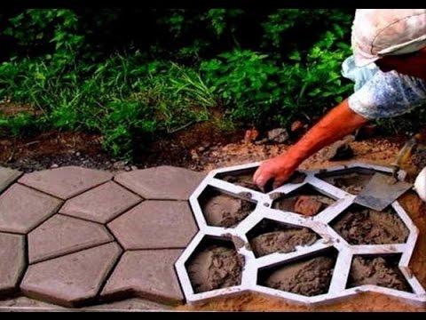 Польские формы для тротуарной плитки купить - YouTube