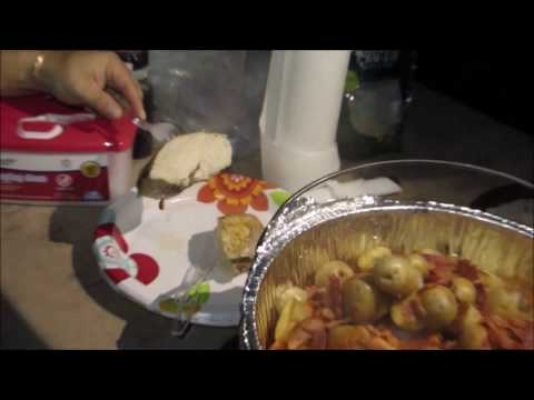 Chicken & Potatoes Dutch Oven Cooking