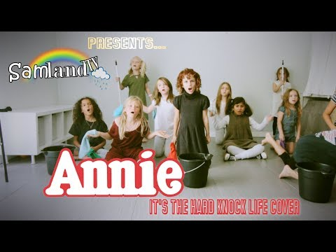1982 ANNIE- It's the Hard Knock Life COVER!