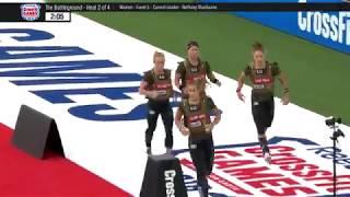 The 2018 CrossFit Games Battleground Women Heat 2
